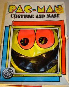 Vintage Pac Man Mask