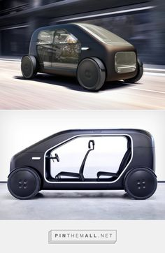 Biomega's car is the most minimal automobile aesthetic ever! Urban Concept, Tesla Roadster, Yanko Design, S Car, Cute Cars, Small Cars, Automotive Design, Electric Cars, Motor