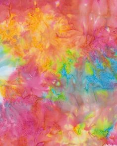 Multi - Mystique Texture Hand-Dye - Candy - 100% RAYON