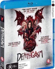#Repost @deathgasm.  DEATHGASM comes to VOD DVD & Blu-Ray in NZ/AU tomorrow from @madmanent! #terrormolins #molinshorror best film winner.