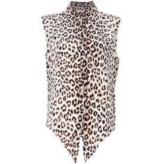 Equipment Equipment Leopard Print Blouse - LoLoBu
