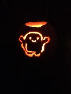 My daughter's adipose pumpkin