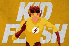 Kid Flash Wally West young justice Cartoon Network follower's request