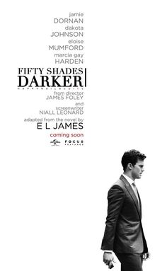 """ Fifty Shades Darker coming soon ""Jamie Dornan and Dakota Johnson 50 Shades Freed, Fifty Shades Darker, Shades Of Grey Book, L James, Pure Romance Consultant, Yes I Have, Jamie Dornan, Christian Grey, Love Movie"