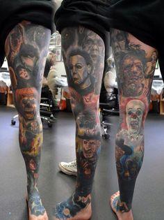 Horror leg sleeve!                                                       …