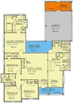 Plan 14133KB: Two Porches Plus