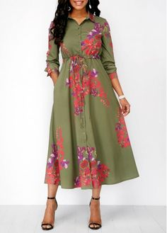 Dresses For Women Women's Fashion Dresses, Casual Dresses, Summer Dresses, Fashion 2018, Womens Fashion, Thick Girls Outfits, Club Party Dresses, Long Sleeve Shirt Dress, Dress Long