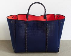 2.4 'Escape' bag - DUAL TONE navy/hot coral - PREORDER LATE FEBRUARY DISPATCH from State of Escape