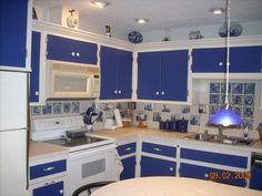 Blue Delft Kitchen