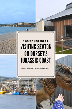 Visiting Seaton on Dorset's Jurassic Coast. Find out what there is to see and do at Seaton #dayout #dayoutuk #family #familytravel #jurassiccoast #dinosaurs #dorset