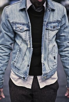 Denim done up right.