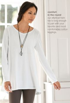 Love the swingy-ness of this top