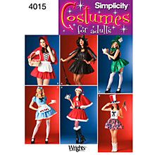 Buy Simplicity Costume Dressmaking Leaflet, 4015 Online at johnlewis.com