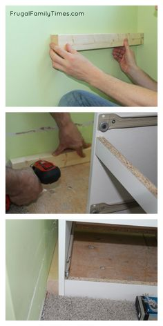 How To DIY A Simple Built In Window Seat (an Ikea Hack!)