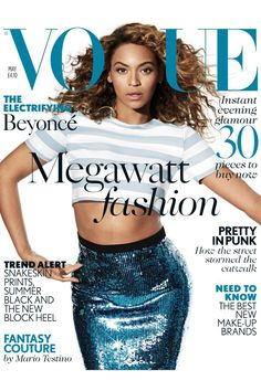 Beyoncé On The Cover Of Vogue UK