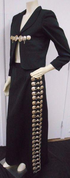 Mexican Charra Mariachi Suit Costume Mexico Skirt Ladies Women Botonaduras | eBay