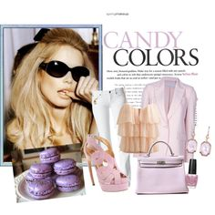 candy colors, created by tropika.polyvore.com