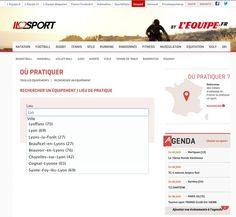ILOSPORT, le nouveau site de l'Équipe consacré aux pratiques sportives, tire profit d'Antidot Information Factory et Antidot Finder Suite pour agréger les informations fournies par de nombreux partenaires.