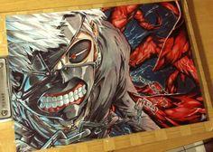 Ken Kaneki - Tokyo Ghoul by kazukizein