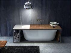 Vasca da bagno ovale in acrilico NAKED by GLASS IDROMASSAGGIO | design Giopato & Coombes
