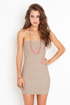 this dress could work for so many occasions (some cover-up may be required)..but i love the style/color!