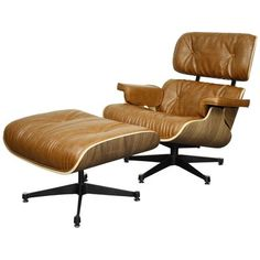 The New Pacific Direct Inc Grayson Lounge Chair with Ottoman - Walnut Frame is a handsome replica of the timeless Eames chair. This lounge chair boasts. Living Room Chairs, Dining Chairs, Lounge Chairs, Eames Chairs, Beach Chairs, Office Chairs, Dining Room, Office Decor, Lounge Chair Design