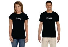 hashtag swag swag womens jr fit shirt by OodlesDecals on Etsy