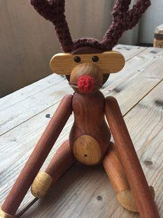*2 JUL*: Garnhygge: KB aben som årets Rudolf - FantasiFabrikken Knit Crochet, Diy And Crafts, Merry Christmas, Knitting, Projects, Crochet Christmas, Crochet Ideas, Creative Ideas, Inspiration