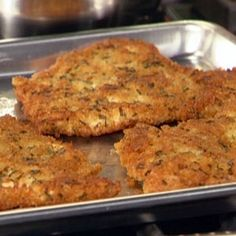 These are the best cutlets ever! Chicken Cutlets with Herbs Recipe : Rachael Ray : Recipes : Food Network Herb Recipes, Ww Recipes, Skinny Recipes, Cooking Recipes, Healthy Recipes, Cooking Games, Quick Recipes, Delicious Recipes, Cooking Dishes