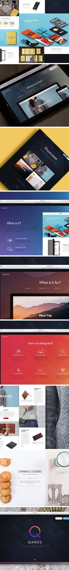 Qards - it's our brand new tool which build to help you to create a landing page or multi-page website with no coding or design skills. You focus on content, the purpose of your website and the story you want to tell. Leave the rest to us. You'll be surpr…