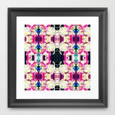 Digital interpretation rococo Framed Art Print