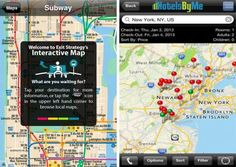 10 Tourist Apps for NYC - some look neat, some not so much.