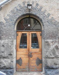 Helsinki, Kapteeninkatu (Kaptensgatan) 11 / Tehtaankatu 9 «Schalinin talo» (Usko Nyström 1902)