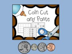 The student will cut out and paste pictures, descriptions, and words for each US coin including: -penny -nickel -dime -quarter These are sorted onto a simple 5 x 4 grid with column titles: -Coin Name -Value -Front -Back -What's on it? Download for free and enjoy!