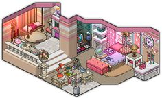 Twitter  Weebz  Youtube    Hi! I just felt all girly and wanted to make a room that's 101% pink, cute and adorable!! *_*  Note: I don't pixelate the rooms my...