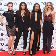 The girls on the red carpet for the BBC Radio 1 Teen Awards