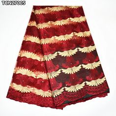 Wine red french tulle lace fabric embroidered 2017 African lace fabric net high quality for women wedding dress 5 yards TCN270