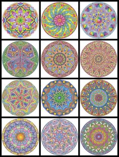 Free mandalas to color
