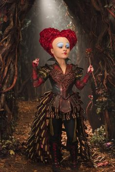 The Red Queen, Alice Through the Looking Glass