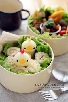 野菜ウインナーで彦星と織姫のお弁当++ の画像|naohaha's obento*