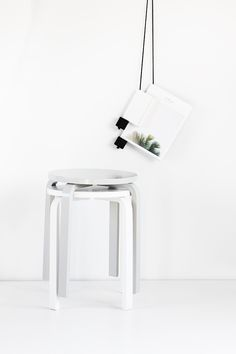 Ikea painted stools   MyDubio