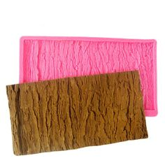 1 x Tree Bark Texture Silicone Mold Mat Mold Size (W X L): 25 cm x 12 cm Material: Silicone Temperature: -40° ~ +230° ★ Easy to clean ★ Food Safe, FDA Approved ★ Can be used in the refrigerator, oven,