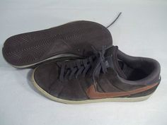 Sold NIKE TENNIS CLASSIC DARK CINDER BROWN SIZE 11 #312495-222