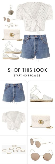 """""""Sem título #5237"""" by fashionnfacts ❤ liked on Polyvore featuring RE/DONE, Michael Kors, Oh My Love, Gucci, Boohoo and MICHAEL Michael Kors"""
