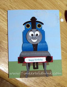 Thomas the Tank Engine train  Tinker With Ink & Paper