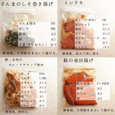節約 作り置き 家計管理 手取り19万円の暮らしさんはInstagramを利用しています:「. . 鮭の切身はお弁当用なので少し多め! . チャーハンの下味冷凍はご飯を炊き忘れたため、 後ほどレシピ載せます! 万能ひき肉は、ひき肉料理に使用できます!(大根そぼろ、肉味噌、麻婆豆腐など) .…」 Cooking Recipes, Healthy Recipes, Candle Centerpieces, I Love Food, Japanese Food, Meal Prep, Food And Drink, Menu, Sweets