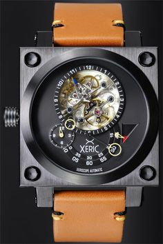 Xeric Xeriscope Squared Black Tan Limited Edition Watch