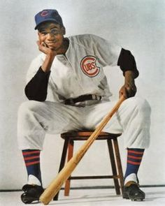 November 1959 Ernie Banks, Chicago Cubs shortstop, wins the National League MVP. Chicago Cubs Fans, Chicago Cubs Baseball, Sports Baseball, Baseball Players, Baseball Tickets, Chicago Cubs History, Sports Teams, Baseball Scoreboard, Baseball Teams