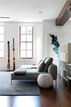 Frank sofa and shelf from B&B Italia