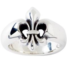 Sterling Silver Ladies' Ring | Fleur-de-Lis